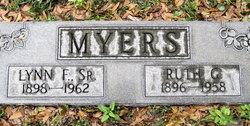 Ruth Josephine <i>Gatchell</i> Myers