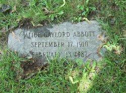 Alice G Abbott