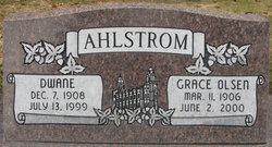 Grace Christina <i>Olsen</i> Ahlstrom