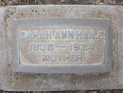 Sarah Ann <i>Mallard</i> Haile