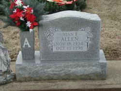 Joan Francis <i>Amos</i> Allen