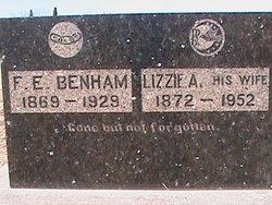 Lizzie A. <i>Ormsby</i> Benham