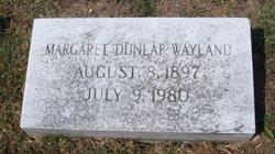 Margaret Dunlap Wayland
