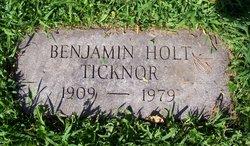 Benjamin Holt Ben Ticknor