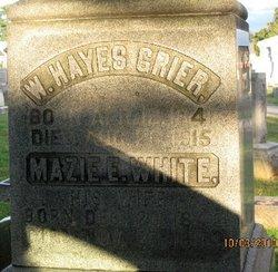 Mary E. Mazie <i>White</i> Grier