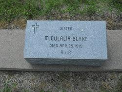 Sr M. Eulalia Blake
