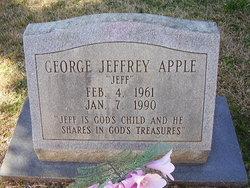 George Jeffrey Jeff Apple