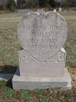 Barbara June Bailey