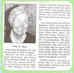 Neta E <i>Child</i> Rees