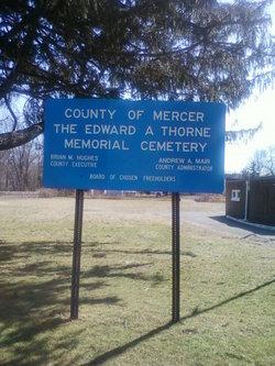 Edward A. Thorne Memorial Cemetery