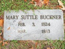 Mary <i>Suttle</i> Buckner