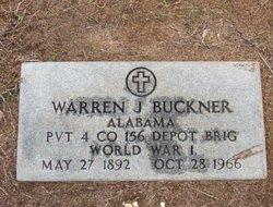 Pvt Warren J. Buckner