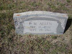 Francis Marion Frank Allen
