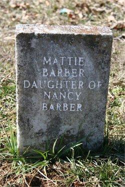 Martha Mattie Agnes Pitts <i>Barber</i> Jones