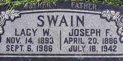 Lacy Elizabeth <i>Watson</i> Swain
