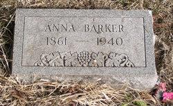 Anna B <i>Allen</i> Barker