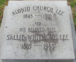 Sallie <i>Whitmore</i> Lee