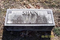 Mary Elizabeth Bettie <i>Huffman</i> Shain