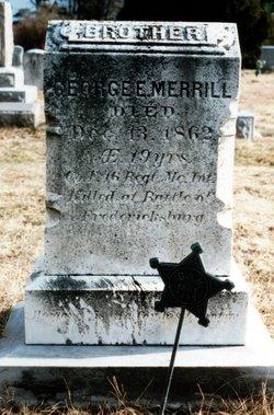 George E Merrill