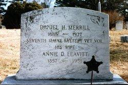 Annie D <i>Leavitt</i> Merrill