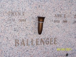 Annie Laurie <i>Parrish</i> Ballengee