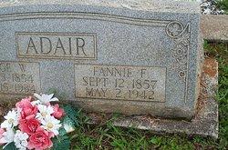 Frances Fannin Fannie <i>Vardaman</i> Adair