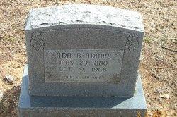 Ada B <i>Bomar</i> Adams