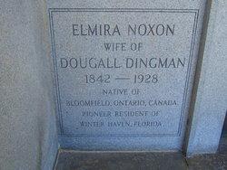 Elmira <i>Noxon</i> Dingman