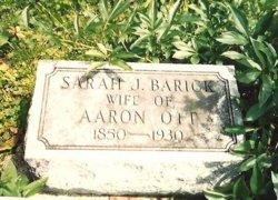 Sarah J. BARICK