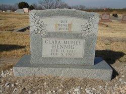 Clara Muriel Hennig