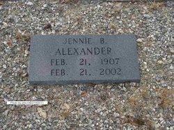 Jennie B Alexander