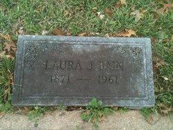 Laura <i>Jones</i> Bain