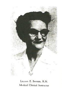 Lillian Estelle Snyder