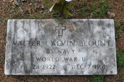 Walter Calvin Blount