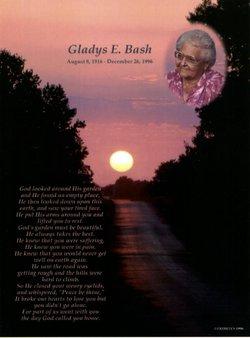 Gladys Eudora <i>Harris</i> Bash