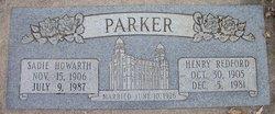 Sadie <i>Howarth</i> Parker