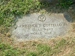 Lawrence Patrick Buddy Costello, Sr