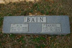 Ben Franklin Bain