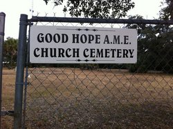 Good Hope AME Church Cemetery