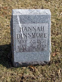Hannah <i>Bradley</i> Dinsmore