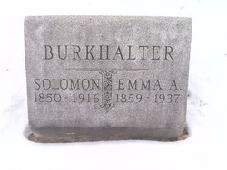 Emma Angeline <i>Montgomery</i> Burkhalter
