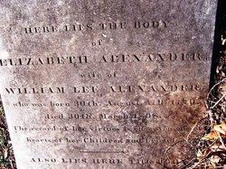 Elizabeth <i>Henderson</i> Alexander
