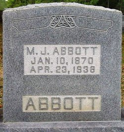 Martha Jane Jenny <i>Reynolds</i> Abbott