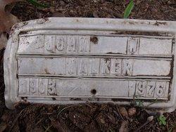 Rev John Albert Walker