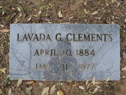 Susan Lavada <i>Green</i> Clements