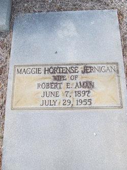 Maggie Hortense <i>Jarnigan</i> Aman