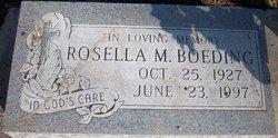 Rosella Marie <i>Weir</i> Boeding