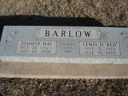 Lewis H. Red Barlow, Jr