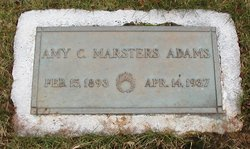 Amy C <i>Marsters</i> Adams