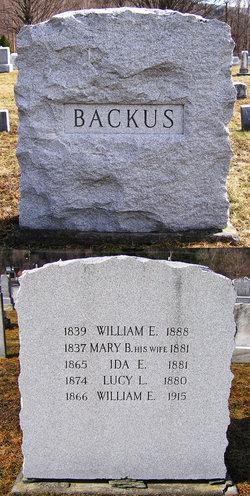 William Enoch Backus, Jr